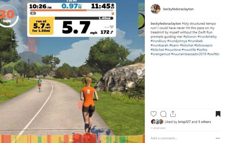 Product Review: Zwift – Run, Becky, Run